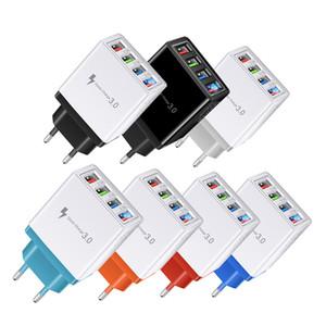 Universale 5V 3A caricatore rapido 4 porte USB Viaggi caricatore del telefono mobile AC Adapter Power Supply