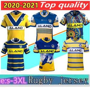 2020 Yeni Parramatta Yıllar Anzak Hatıra Sürümü Rugby Jersey 20 21 Parramatta Yelsalar Jersey Gömlek Avustralya NRL Rugby Ligi Formaları