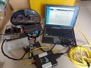 para BMW ICOM ferramenta de diagnóstico ICOM PRÓXIMO ISTAD ISTAP 750GB HDD em D630 Laptop usado 4G Diagnóstico computador pronto para o trabalho