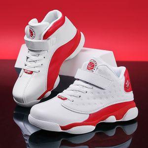 Zapatos SKHEK Niños baloncesto de los hombres 2019 nuevos zapatos de la zapatilla de deporte al aire libre del resorte de los niños niños grandes antideslizantes deportivas Calzado Zapatos deportivos Basket 1007