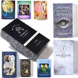 The Modern Witch Tarot Deck Guida Carta Tabella Gioco di carte magico destino Divinazione carta DHL il trasporto libero,