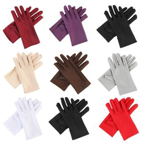 1Pair Unisex Cycling Gloves Thin Stretch Spandex Sports Driving Sun Protection Bike Gloves