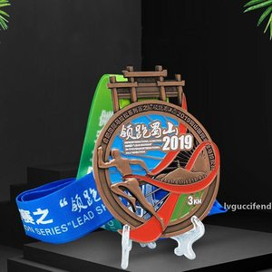 Customized High Quality Medals Plating Metal Medal Paint Drip Oil Medal Multiple Crafts Provide Design To Get a Quote