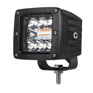 4INCH Led Work Light Cube pods Off road Fog Lamp Driving Light bar white amber yellow Strobe Combo beam for Truck car