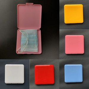 Cheapest Portable Box Shield Moisture Dust Proof Container Disposable Face Mouth Cover Holder Mask Storage Case DHA1933