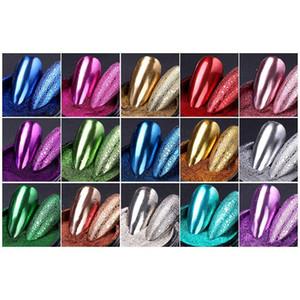 Mirror Glitter Bubble Nails Soap Foam Chrome Pig Chrome Pigments Nail Art Decorations Gold Powder For Nail Beau jlluRy
