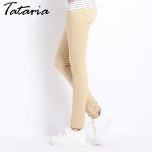 Feminino Denim Candy Color Womens Jeans Donna Stretch Bottoms Feminino Calças Skinny para Mulheres Calças Tataria Y200417