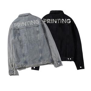2020 Womens Tasarımcılar Denim ceketler Erkekler Rasgele Palto Markalı Moda Luxe Mans Ceket Stilist Outwear Giyim Üst Kalite 20ss S