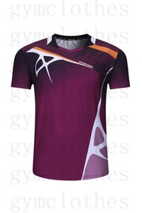 Badminton wear T-shirt short-sleeved quick-drying color matching prints sportswear jerseys0001