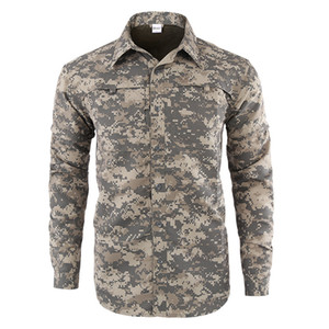 Esdy outdoor sports fast drying detachable Long Sleeve Shirt   short sleeve outdoor training tactical hunting travel breathing T-shirt