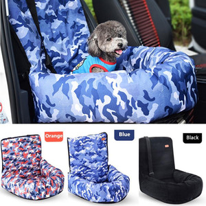 2 in 1 Pet Dog Carrier Car Seat Pad With Safety Belt Cat Puppy Bag Safe Carry House Dog Seat Bag Basket Pet Car Travel Product
