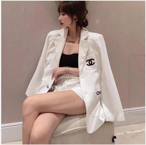 Paris projeto moda feminina desgaste, celebridade web mesmo paletó, outono meio solta moda coreana e longo pequena blusa estilo fragrância