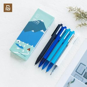 Youpin Kinbor Color Gel Pen 0.5mm Replaceable Water-based Pen Ball Ball Candy Color Frosted