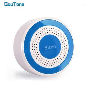 Sensor de alerta de alarma de luz sirena inalámbrica de Gautone 85dB para 433MHz WiFi GSM Security System System1