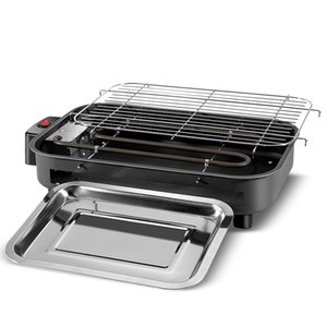 Multi-function Electric Grills Home Baking Pan Smokeless Teppanyaki Barbecue Electric Griddles 220V Indoor BBQ machine