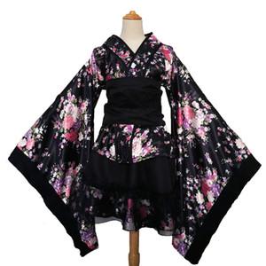 Shanghai Story Womens Printing Kimono Dress Short Style Party Dress