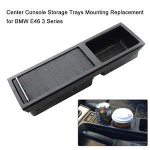 Auto Car Center Console Storage Trays Mounting Drink holder Cup holder for E46 3 Series Car Accessories