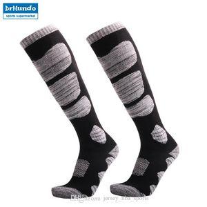 21 3 pairs Winter Warm Men Women Thermal Long Ski Socks Stockings Thicken Sports Breathable Outdoors Skiing Socks