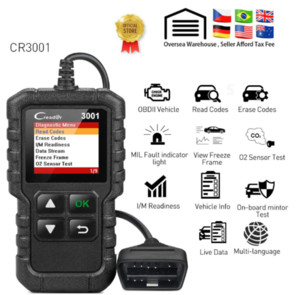 X431 CR3001 Voll OBD2 Scanner OBD 2 EOBD Codeleser Creader 3001 Auto-Diagnosewerkzeug PK AD310 CR319 ELM327 Scantool