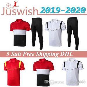 2020 Manchester POLO Short Sleeve Shirt Trousers United POGBA Soccer Training Suit 2019 RASHFORD LUKAKU Man Football POLO Shirts Tracksuit