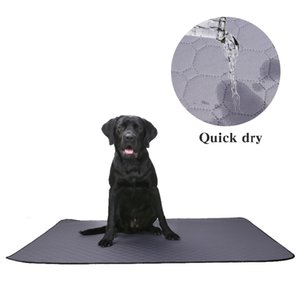 Dog Diaper Washable Impermeable Mat Urine Absorbent Diaper Mat Water Absorption Reusable Diapers Dog Car Seat Cover Pet supplies