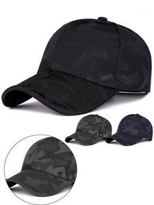 Copy T Unisex Мужчины Женщины Камуфляж Бейсболка Cap Snapback Hat Hip-Хоп Регулируемые Caps1