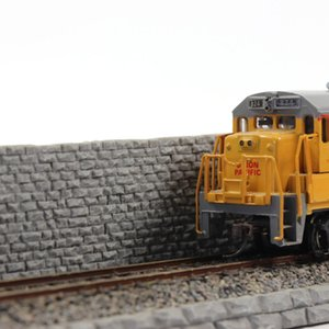 HP21HO 1pc 1:87 Model Train Railroad Protection Slope HO Scale 31cm Railway Wall Accessories