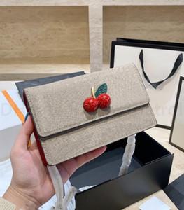 Luxurys clássicos designers sacos senhora moda crossbody bolsa de cereja de alta qualidade bolsas de cereja 2021 mulheres correntes sacos de ombro sacos mensageiros