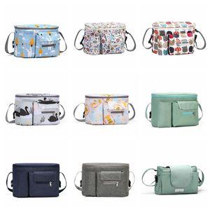 Tragbare Wickelbeutel Kinderwagen Tasche Organizer Große Kapazität Baby Nappy Bag Mutterschafts-Taschen Mom Outdoor-Reise Aufbewahrungstaschen Freies Verschiffen