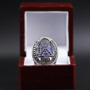 2020 Großhandel LA Dodgers Championship-Ring Mode Ledertasche Zubehör Anhänger Tasche Teile Zubehör