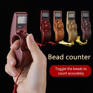 4 Colors Novelty Digital Counter Handheld Rotating Prayer Beads Counter Beads Counter Finger Game Toy Relaxation Tool Hot Sale