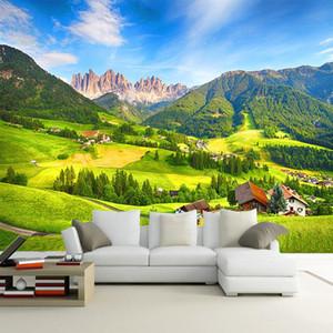 Diantu personalizzato Photo Wall Paper 3D Paesaggio della natura da letto Soggiorno TV sfondo Carta da parati decorazione per parete