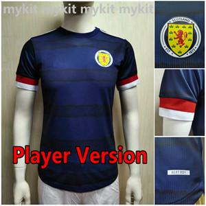 Versión del jugador Escocia Soccer Jersey 2021 2022 Tierney Robertson McTominay Camisa de Fútbol Christie McGregor McGinn Hombres Uniformes para niños Kits Camisitas