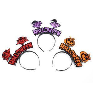 Nuovo Halloween Hot Selling Personalità creativo Halloween Capelli Band Costume Ball Halloween Party Atmosphere Decoration Headdress Hoop EWE2301
