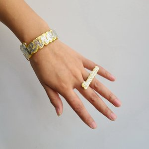 Personalized Customized Name Bracelets for Women Customize Unique Cuban Chain Custom Name Bracelet bangle ring set