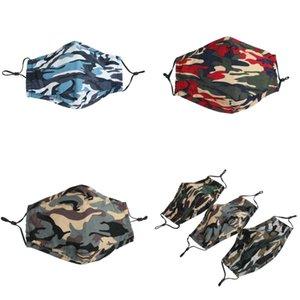 Adultos F2 Paño Protección de originalidad 3 Respirador PM2.5 Haze Foldable Anti Boca Camuflaje Mascherine Mask Nueva Llegada Cara 5SM Polvo Uhau