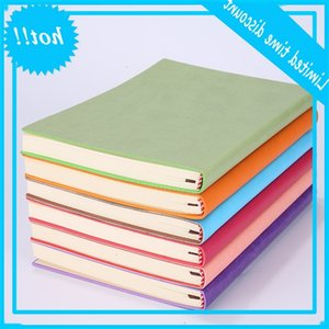 High Quality A5 Simple Classic Solid Journal Notebooks Daily Schedule Memo Sketchbook Home School Office Notepads Supplies Gifts 8 Color