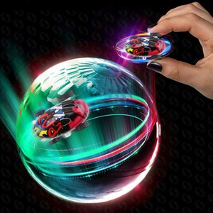 Mini High-Speed Stunt Car Decompression Toy 360 Rotating Laser Chariot Stunt Racing Model Car Toys for Kids USB Charging