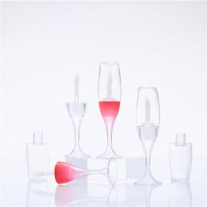 Copa de vino 8ML Mini Lip Gloss Lip Glaze Pintalabios tubo vacío de la belleza DIY Vacío lápiz labial de contenedores