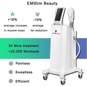 """""""2020 EMS Machine d'entraînement EMS Machine d'entraînement Plein Body EMS Machine de fitness Haute intensité centrée électromagnétique concentrée"""""""