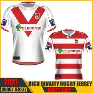 2021 ST George Illawarra Drachen NINES JERSEY GEZEHNUNGEN INDIGENOUS RUGBY JERSYS SHORTS AUSTRALIEN NRL Rugby League Jerseys 5XL