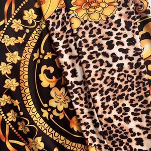 L6PL Hamaliel Seksi Derin Bacak Boyun Kadın Tulum Uzun Pist Sonbahar Siyah Kadife 2018 Kollu Lady Sashes Geniş V Tam Tulum Tulum T20032