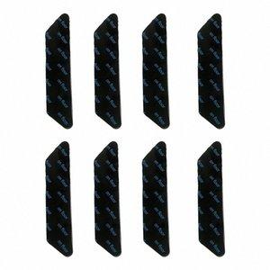 Lavable Inicio Potente alfombra de la manta etiqueta de ducha Suelo Esquinas Pinza No Trace extraíble Anti Slip reutilizable doble cara I26A #