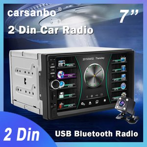 2 Din 7 Inch Car Radio Touch Screen Stereo Multimedia Player MP5 Mirror Link Android IOS Bluetooth FM SD USB AUX Input car dvd