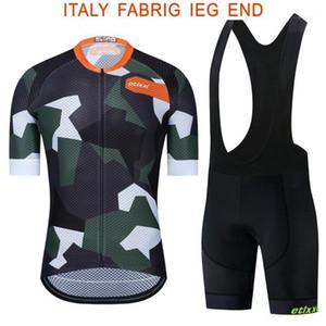 Etixxl 2020 Colourburn Pro Team Aero Cycling Jersey + Pro Team Bear Kit Short Nouveau Tissu Couché à la chaude Summer1