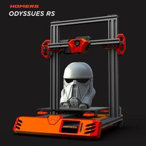 2020 i più nuovi Homers Odyssues / TEVO Tarantula RS 3D AC stampante Bed / Dual asse Z vite madre / Touchscreen / TMC2208 / supporto 1,75 millimetri