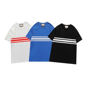 Мода Мужчины Женщины футболка с Письмо Напечатаны Новое Прибытие Летние Футболки для Мужской Женские Дышащие Tees Повседневная футболка 3 Цвета