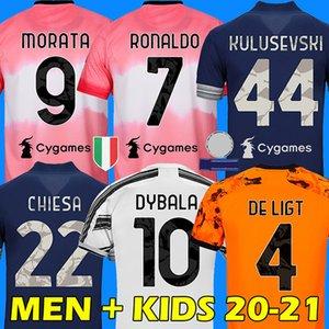 RONALDO DYBALA CHIESA 20 21 juventus maglia da calcio DE LIGT soccer Jersey MORATA KULUSEVSKI ARTHUR Juventus Camiseta de fútbol 2020 2021 BERNARDESCHI football shirt