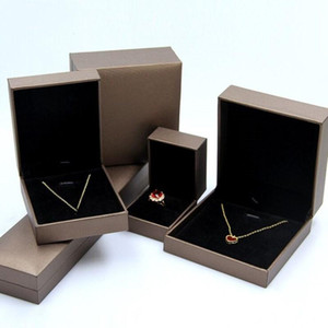 Ring necklace bracelet High-grade imitation paper jewelry box bracelet pendant jewelry packaging box custom storage