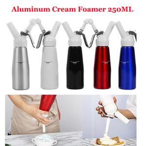 500ML Metal N2O Dispenser Cream Whipper Coffee Dessert Sauces Ice Butter Whip Aluminium Stainless Whipped Fresh Cream Foam Maker In Stock